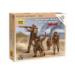 Zvezda figurky British Infantry 1939-42 (1:72)