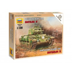 "Zvezda Easy Kit British Tank ""Matilda II"" (1:100)"