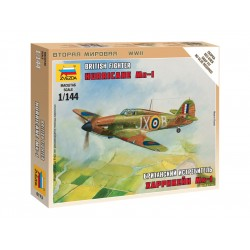 "Zvezda Easy Kit British Fighter ""Hurricane Mk-1"" (1:144)"