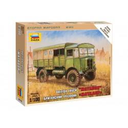 """Zvezda Easy Kit British Truck """"Matador"""" (1:100)"""