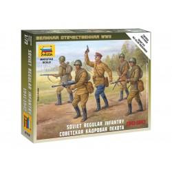 Zvezda figurky Soviet Regular Infantry 1941-42 (1:72)