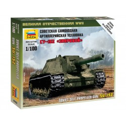 Zvezda Easy Kit Self-propelled Gun SU-152 (1:100)