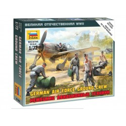 Zvezda figurky German airforce ground crew (1:72)