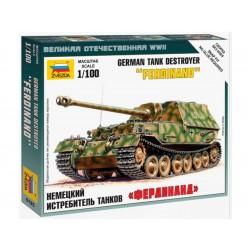Zvezda Snap Kit SdKfz 184 Ferdinand (1:100)
