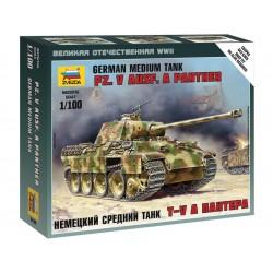 Zvezda Easy Kit Pz.V Ausf. A Panther(1:100)