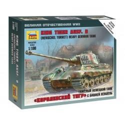 Zvezda Easy Kit King Tiger Ausf. B - German heavy tank...