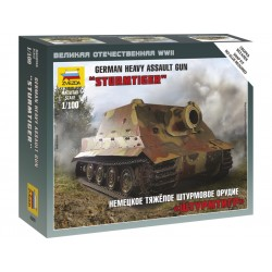 Zvezda Easy Kit Sturmtiger German Heavy Assault Gun (1:100)