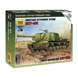 Zvezda Easy Kit Siviet assault gun ISU-152 (1:100)
