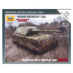 Zvezda Snap Kit německý supertěžký tank Maus (1:100)
