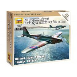 Zvezda Easy Kit British Light Bomber Fairey Battle (1:144)