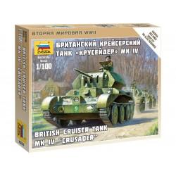 Zvezda Easy Kit British Tank MK IV Cruiser (1:100)