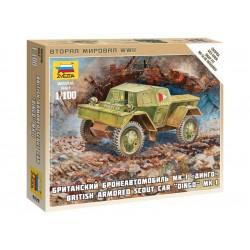Zvezda Easy Kit British Armored Car Dingo (1:100)