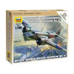 Zvezda Easy Kit British Bomber Bristol Blenheim IV (1:200)