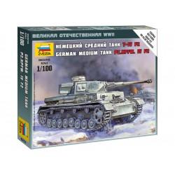 Zvezda Easy Kit Panzer IV Ausf.H (1:100)