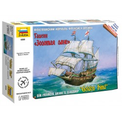 Zvezda Easy Kit Golden Hind (1:350)