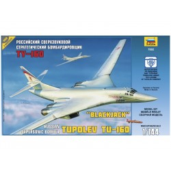 Zvezda Tupolev TU-160 Russian Strategic Bomber (1:144)
