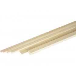 Broušený smrkový nosník 3x3mm (1m)