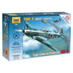 Zvezda Easy Kit Yakovlev Yak-3 (1:72)