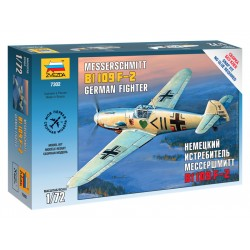 Zvezda Easy Kit Messerschmitt B-109 F2 (1:72)
