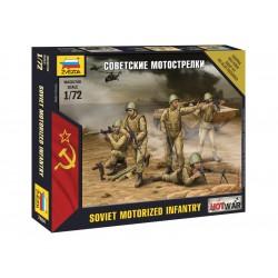 Zvezda figurky Sovětská pěchota (1:72)