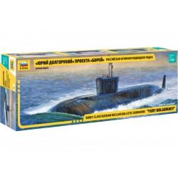 """Zvezda jaderná ponorka """"Yury Dolgorukiy"""" (1:350)"""