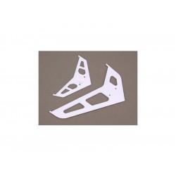 Blade 330X/450: Horizontální stabilizátor bílý
