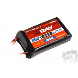 G3 - LC RAY Li-Pol 450mAh/11,1 30/60C Air pack 5,0Wh