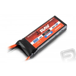 G3 - LC RAY Li-Pol 860mAh/7,4 30/60C Air pack 6,5Wh