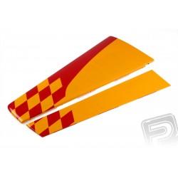 ND YAK 55M 2.2m křídlo červené/žluté pravé