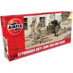 Airfix military 17 Pdr Anti-Tank Gun (1:32) reedice