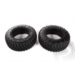2.2/3.0 Hankook Mud Terrain gumy 34mm, R 35 směs ( 2ks.)