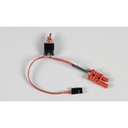 Přijímačový vypínač s FG G2 konektorem/JR-Graupner...