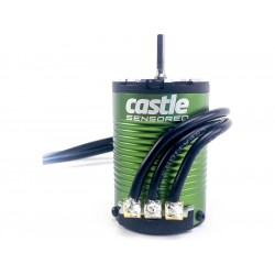 Castle motor 1410 3800ot/V senzored, hřídel 3.17mm